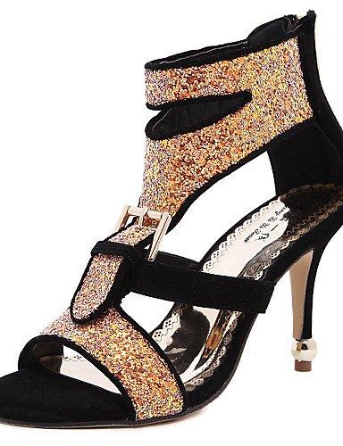 LFNLYX Scarpe Donna-Stivali / Sneakers alla moda / Solette interne e accessori / Sandali / Scarpe col tacco-Matrimonio / Formale / Casual / Black