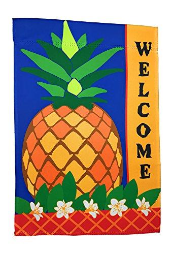Laterne Hill Premium Garten Flagge Dekoration; 30,5x 45,7cm; Doppelseitig Liest korrekt Beiden Seiten Tropisch 12