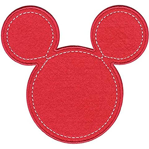Disney Mickey Mouse Iron-On Applique-Minnie Pink