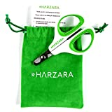 Harzara Professional Pet Nail Clippers. Best for a Cat, Puppy, Kitten & Small Dog. Bonus Storage Bag & Instruction Card. Large Rubbered Finger Holes, Left/Right Handed. A Great Small Nail Trimmer for Grooming