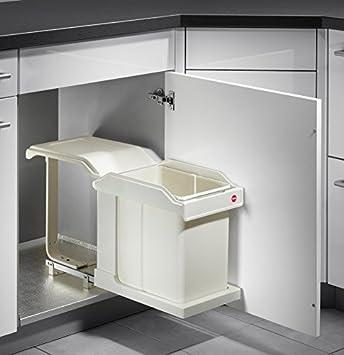 hailo abfallsammler ms swing 30.1/20 c für schränke ab 300 mm ... - Küche Abfallsammler