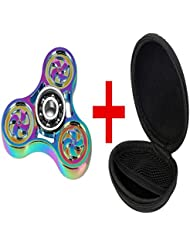 Luomike Fidget Hand Spinner Camouflage Multi-Color EDC Focus Toys