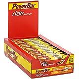 Energieriegel Ride Energy mit Magnesium – Fitness-Riegel mit Whey, Hafer & Maltodextrin bei erhöhtem Energiebedarf – 18 x 55g Peanut- Caramel