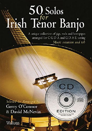 50 Solos for Irish Tenor Banjo Oconnor B