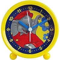 Kinderwecker Benjamin Blümchen gelb Quarzwecker Wecker für Kinder Kinderuhr Uhr