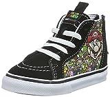 Vans Unisex Baby Sk8-Hi Zip Sneaker, Mehrfarbig ((Nintendo) Mario and Luigi/True White), 22 EU