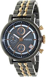 Fossil Chronograph Black Dial Women's Watch ES3386