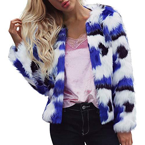 MIRRAY Damen Warm Mantel Jacke Winter Elegant Jacke -