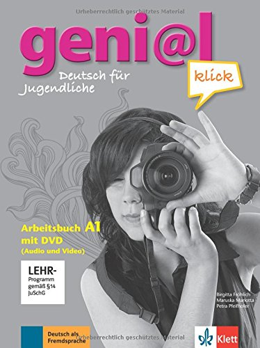geni@l klick a1, libro de ejercicios + dvd-rom por Birgitta Fröhlich