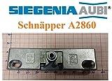 SI Siegenia Balkontür Terrassentür Schnäpper A2860 / Schnäpper 2860 Türschnäpper inkl. Hülse