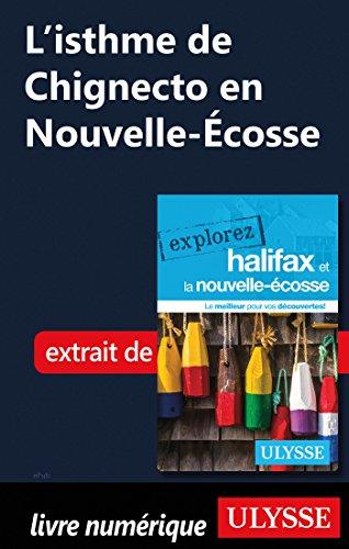 Descargar Libro L'isthme de Chignecto en Nouvelle-Ecosse de Benoit Prieur