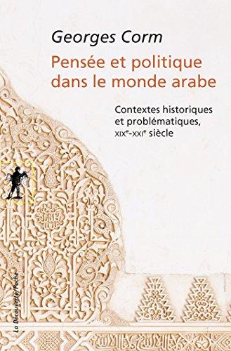 pensee-et-politique-dans-le-monde-arabe-poches-sciences-french-edition