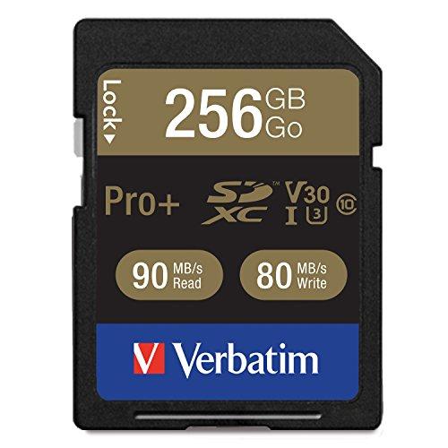 Verbatim proplus memoria flash 256 gb sdxc classe 10 uhs-i