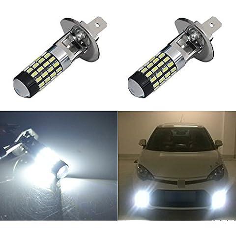 AGLINT H1 54W FPC 323 lumen 12-24 Volt CC universale Led bianco della luce di (Kit Luce Freno Kit)