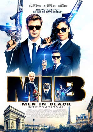 Men IN Black : INTERNATIONAL - U.S Movie Wall Poster Print - 30cm x 43cm / 12 Inches x 17 Inches