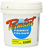 Permaset Aqua - Tinta para serigrafía textil (1L, ecológica, color azul claro)