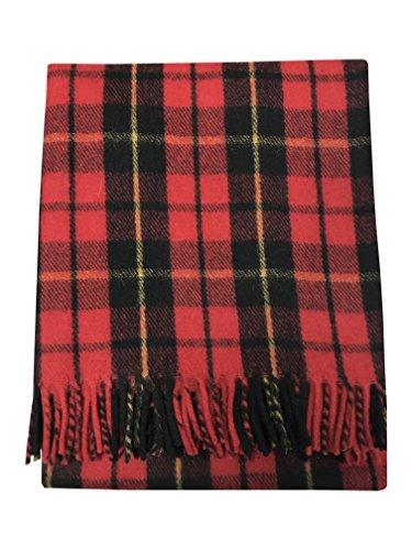Manta de Tartan Tweeds, de lana tartán, alfombra para viajes y picnic