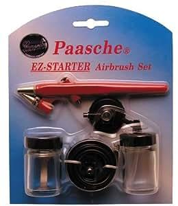 Paasche EZ-STARTER Single Action Beginner Airbrush Kit by Paasche Airbrush