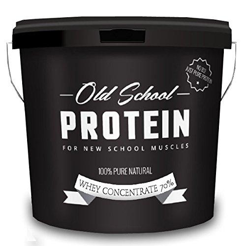 Protein-Molkepulver wie zu alten Zeiten 7 kg PRO - Geschmackloses Molkenprotein der Spitzenklasse für extrem gute Ergebnisse - 100 % natürlich / 70 % Protein-Molke Konzentrat