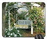 Balancelle de jardin Rose Tapis de souris, tapis de souris tapis de souris (Fleurs)