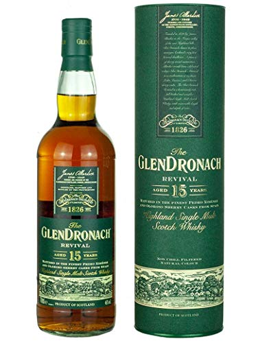 Glendronach 15 Jahre Revival Release 2018 Whisky 0,7 L