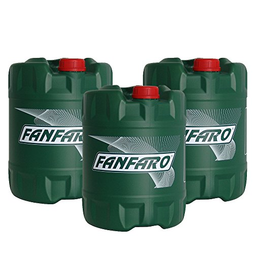 3 x 20L Set FANFARO 5W-30 + 5W-40 + 10W-40 / Motoröl Set VW 504 507 502 505 501.01