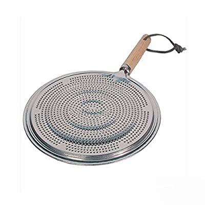 SIMMER RING PAN MAT HEAT DIFFUSER FOR ELECTRIC OR GAS COOKER DIAMETER 21cm Brand New by firstdeal