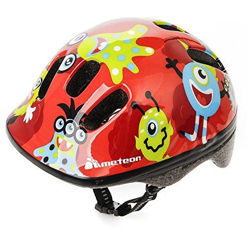 meteor Fahrradhelm MV6-2 Kinder & Jugendhelme: Radhelm für Radfahrer Radsport; für Hoverboard, Inline-Skate, BMX Fahrrad, Scooter. Entwickelt für die Sicherheit der...
