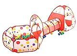 Pericross® Pop Up Zelt Bällebad mit Basketballkorb 8 Farben