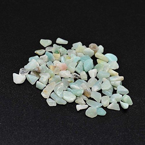 250 perle naturali amazzonite 4 mm ~ 8 mm pietra tamburo, senza foro a filo, marrone, chip, pietre preziose, semipreziose, gioielli, pietre preziose per cabachon, catena decorativa fai da te g755
