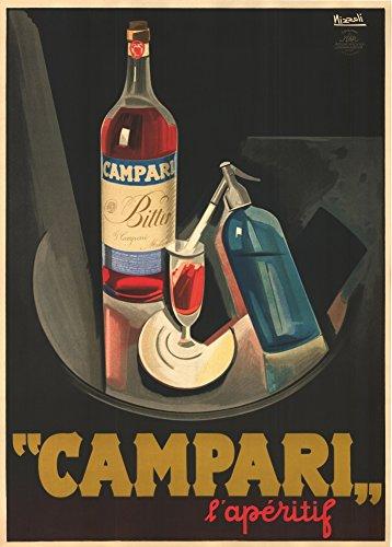 cartolina-illustrata-in-formato-poster-a3-con-riproduzione-della-pubblicita-di-bevande-alcoliche-cam