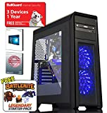 ADMI GAMING PC: Intel Core I7 8700 4.0Ghz Six Core CPU/GeForce GTX 1060 6GB GDDR5 Graphics Card/16GB 2400MHz DDR4 RAM/2TB HDD/500W PSU/Game Max Falcon Case/Windows 10