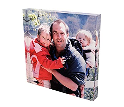 Personalised Acrylic Photo Block - Square (4