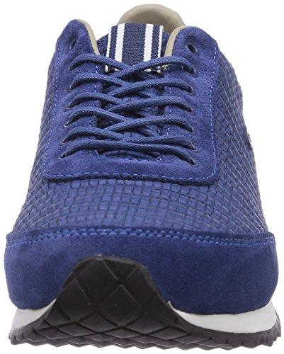 Lacoste Helaine Runner 6, Baskets Basses femme Bleu - Blau (DK BLU 120)