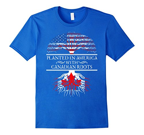 canada-american-planted-in-us-with-canadian-roots-t-shirt-herren-grosse-m-konigsblau