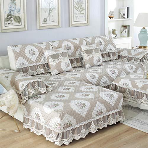Zcm sofa protector, coprisedile in tessuto elasticizzato moderno coprivaso in tessuto imbottito divano letto (un pezzo) (dimensioni : 68 * 210cm)