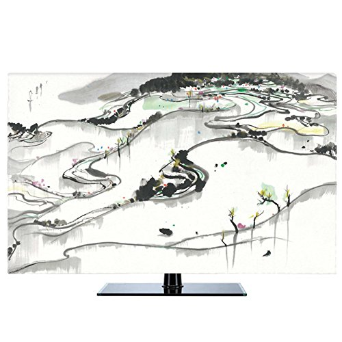 NACHEN TV Staubschutz Abdeckung LCD hängende Staub Abdeckung Fernsehapparat Hauben Gewebe Haushalts Waren Staubdichte Abdeckung (color 13, 60) (60 Großen Tv-bildschirm)