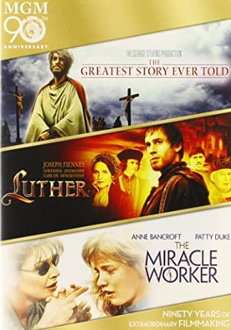 Greatest Story Ever Told / Luther / Miracle Worker [Import