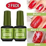 Hilareco Burst Magic Remove Vernis à Ongles Gel UV Magique Soak Off Nail Art Clean Soak Off Gel Polish