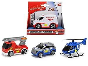 Dickie Toys 203711000 Rescue Force - Juguete para bebé