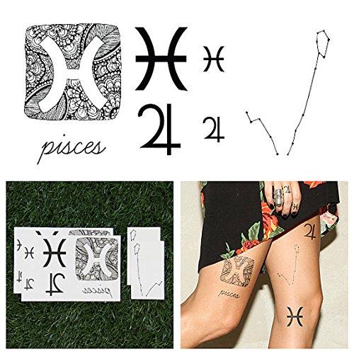 tattify-tatouages-temporaires-astrologique-poisson-set-de-14