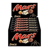 Mars GmbH Mars Schokoladenriegel doppelpack, 24 x 2 Riegel