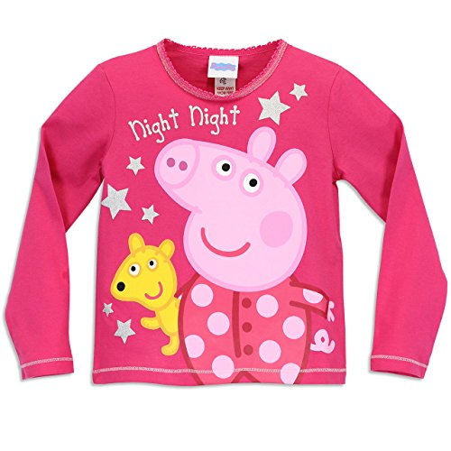 Image of Peppa Pig Girls Peppa Pig Pyjamas Night Night Peppa Age 2 to 3 Years