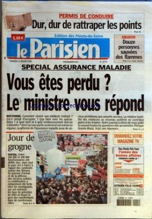 PARISIEN EDITION DES HAUTS DE SEINE(LE) [No 18776] du 21/01/2005