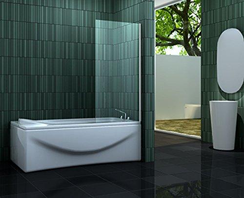 fixe Duschtrennwand ESTA 70 x 140 (Badewanne)