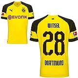 Puma BVB Borussia Dortmund Home Trikot mit Bundesliga Logo 2018 2019 Herren Axel Witsel 28 Gr L