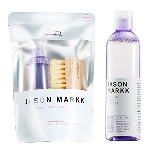 Jason Markk Essential Kit and Premium Shoe Cleaner (Bundle) -