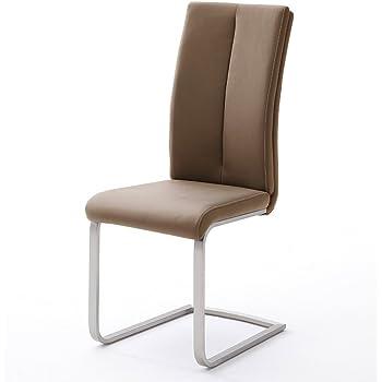 Stuhl Freischwinger 4er Set Schwingstuhl Jim Esszimmerstuhl POn80wk