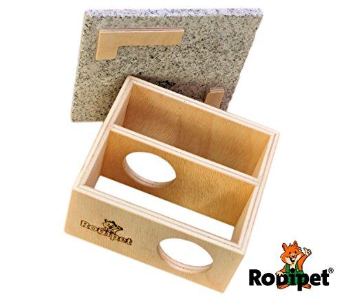 Rodipet +Granit Nagerhaus BURQiN