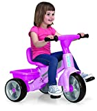 FEBER Tryke Baby Plus Music Pink, Triciclo (Famosa 800010210)